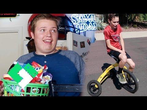 Tyler's 17th Birthday Party | Clintus.tv