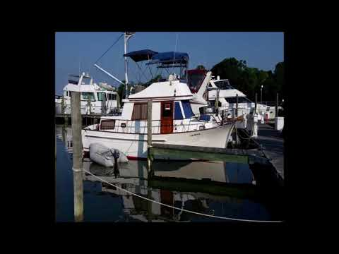 1985 34 foot Marine Trader Trawler double cabin Power boat for sale in Georgetown, MD. $32,900.