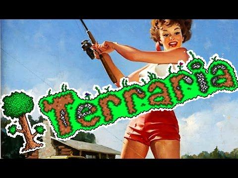 видео: terraria Обновление 1.2.4 - РЫБАЛКА НА ЧЕРВЯ