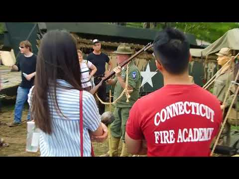 Visiting Old Bethpage (Part 2)WW2 Showing