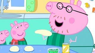 Peppa Pig en Español Episodios completos   Comida   Pepa la cerdita