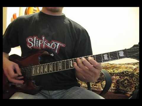 Slipknot - I Am Hated (guitar cover by Serhij Kostyuk)