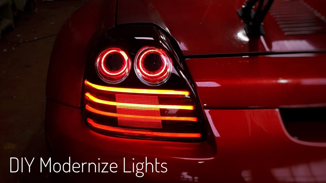How To Customize Tail Lights - Diy
