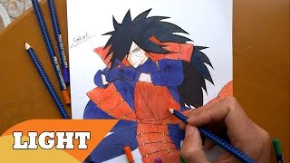 Drawing Uchiha Madara うちはマダラ From Naruto Shippuden