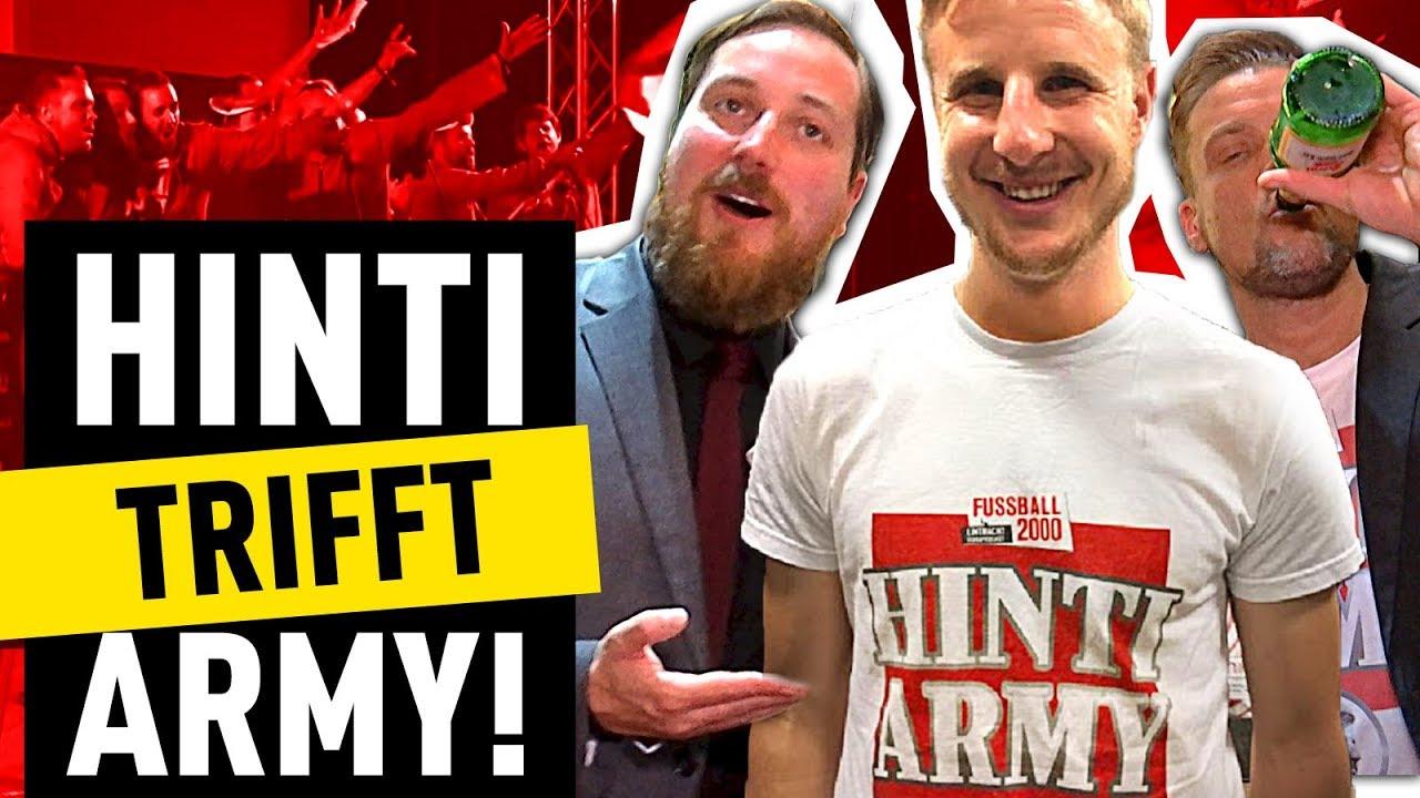 Hinteregger Trifft Zum Ersten Mal Die Hinti Army Fussball 2000 Eintracht Videopodcast