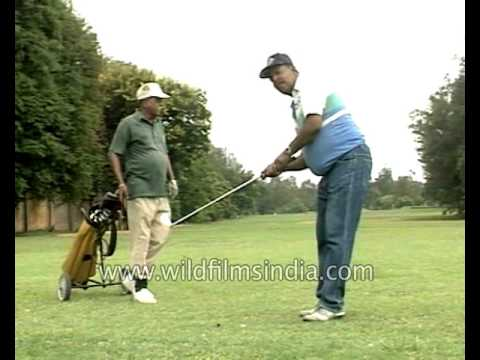 Bangalore golf club and interview with golfers