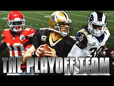 THE PLAYOFFS TEAM! TODD GURLEY, DREW BREES, TYREEK HILL! Madden 19 Ultimate Team