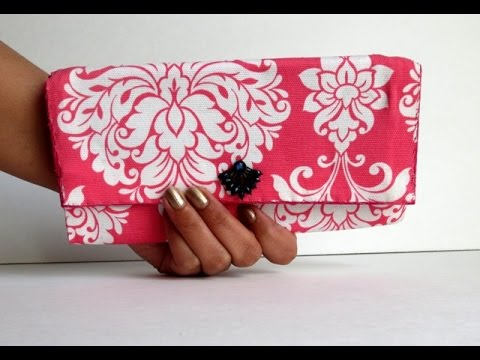 diy-fabric-&-cardboard-purse-|-card-holder-|-clutch