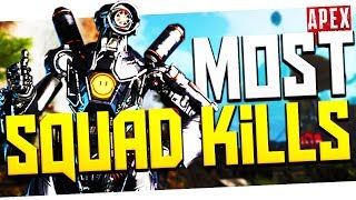 My MOST Random Squad Kills! - PS4 Apex Legends! thumbnail