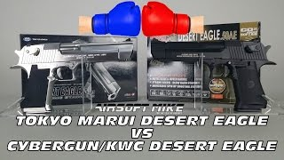 TOKYO MARUI DESERT EAGLE vs CYBERGUN KWC DESERT EAGLE