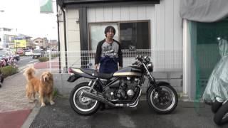 カワサキ:ゼファーχ(カイ)最終モデル:参考動画:走行動画