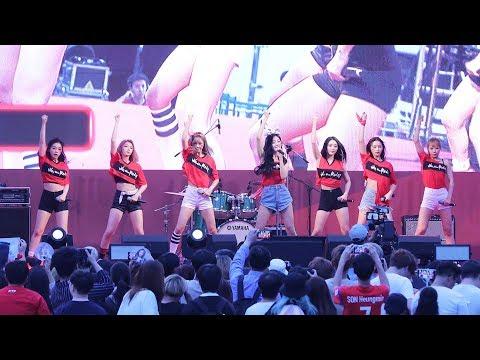 180627 드림캐쳐(DREAMCATCHER) - Lucky Strike [광화문 월드컵 거리응원] 4K 직캠 by 비몽