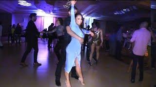 Karel Flores & Oscar Martinez social salsa dancing @ LVS-SC'18!