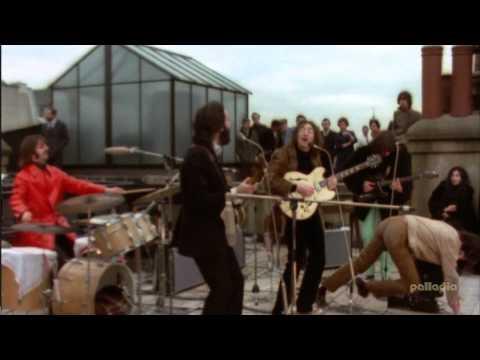 The BeatlesDon't Let Me Down Live 1969 HD mp4