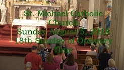 Mass from Sunday, August 5, 2018