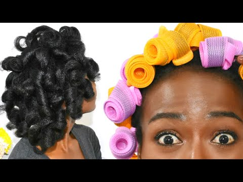 we-are-using-curlformers-wrong!?-roll-up-method-on-natural-hair-|-perfect-heatless-curls