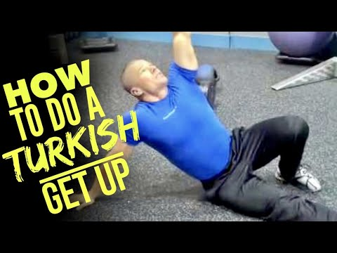 How to Do The Turkish Get Up Exercise: