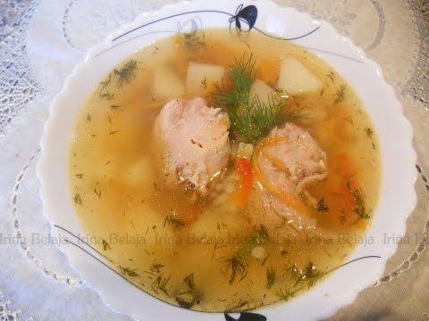 Суп с кроликом в мультиварке
