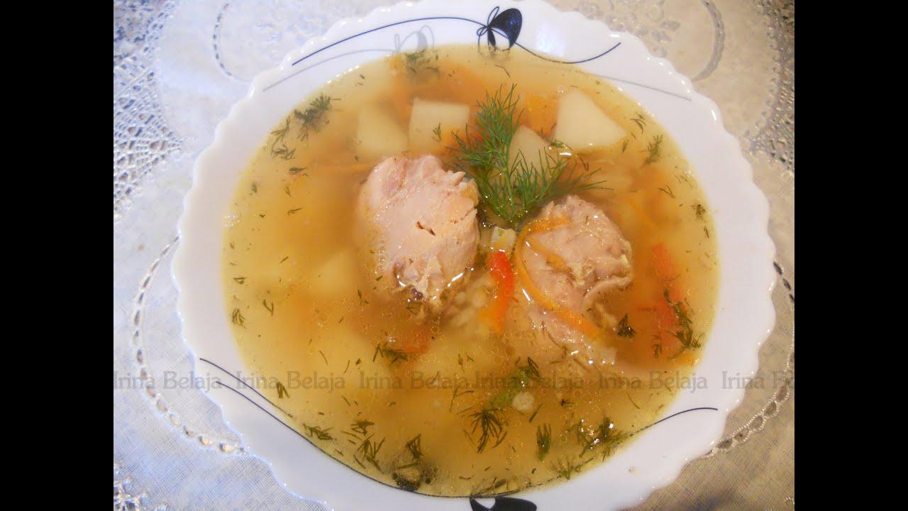 как приготовить суп из кролика видил