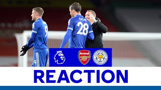 'We Stuck To Our Plan' - Brendan Rodgers   Arsenal 0 Leicester City 1   2020/21