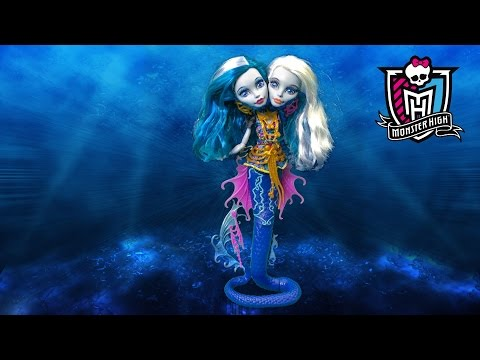 Monster High Great Scarrier Reef Peri & Pearl Serpentine from Mattel