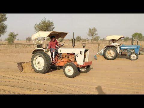 Ford 3600 and Escort 335 all two tractors did the compaction RajukiMasti
