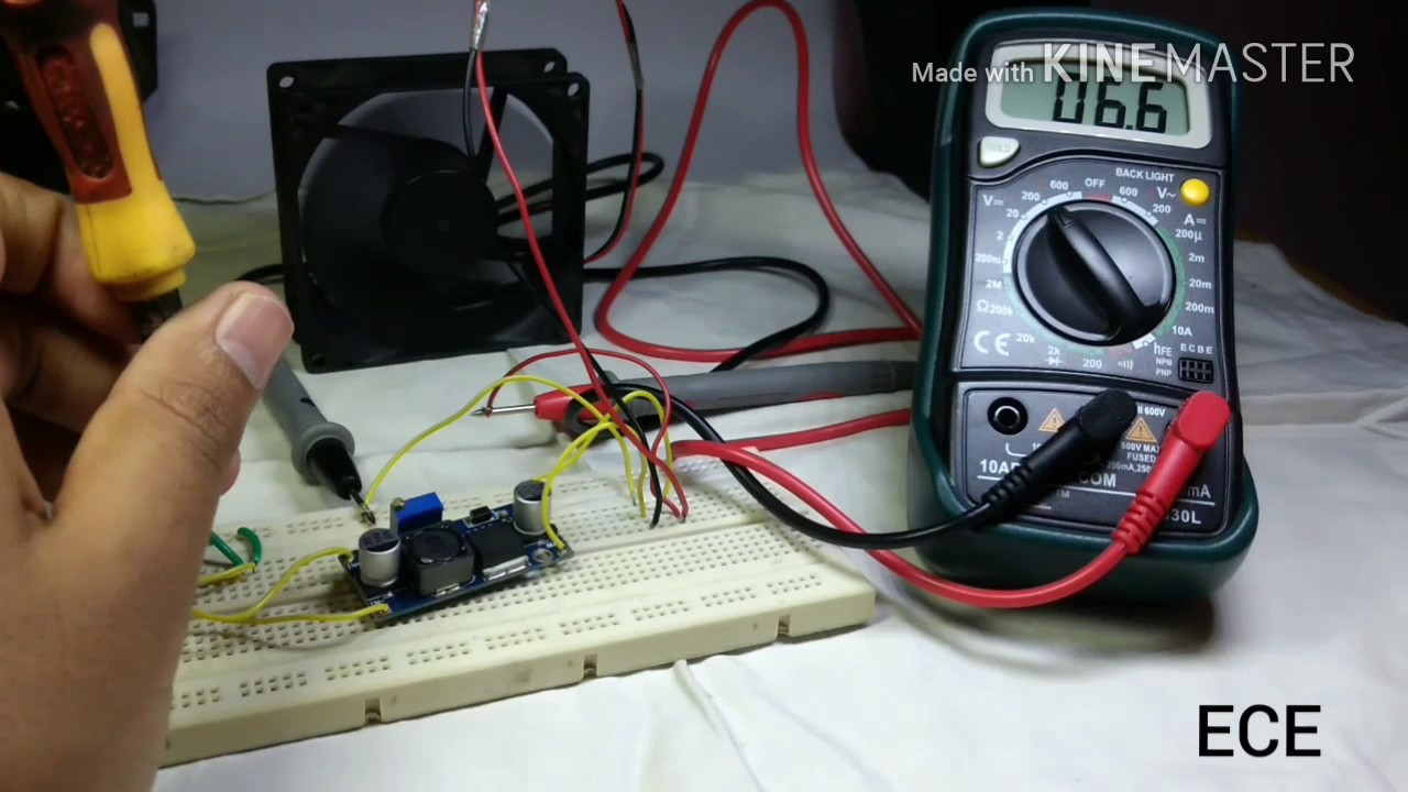 Xl 6009 Dc To Boost Converter Load Test Hindi Youtube Circuit