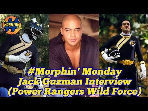 Jack Guzman Interview (Power Rangers Wild Force) Morphin' Monday