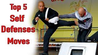 Top 5 Self Defenses moves - wing Chun Live Demo