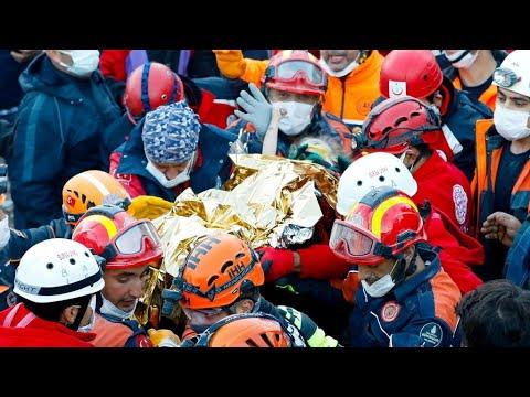 Turquie : une fillette de 3 ans retrouvée vivante à la suite du séisme à l'ouest du pays