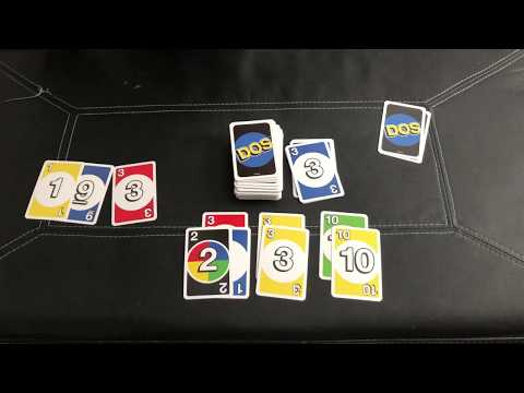 Dos Card Game Rules and Gameplay Demo