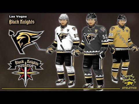 Las Vegas Black Knights NHL Team Concept