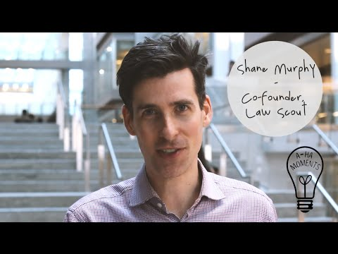 My Aha Moment with Shane Murphy of Law Scout #MaRSaha