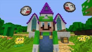 Minecraft Wii U - Super Mario Series - Luigi's Mansion [11]
