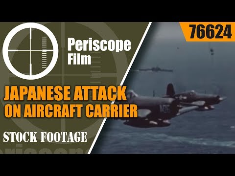 JAPANESE ATTACK ON AIRCRAFT CARRIER USS FRANKLIN 1944  76624