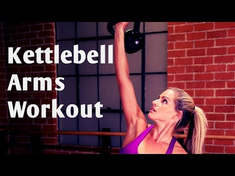 15 Minute Kettlebell Arms Workout