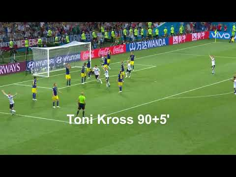 World Cup 2018 All Goals Part 6 (Group F)