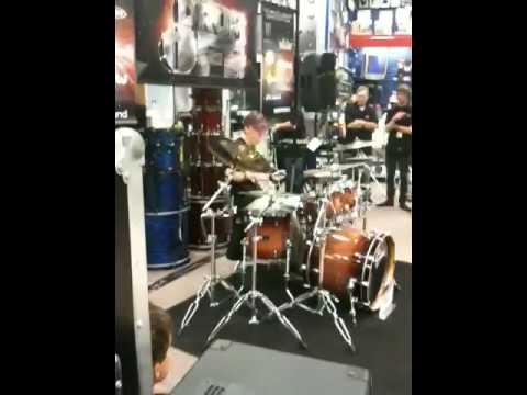 Nick Ingram drum solo