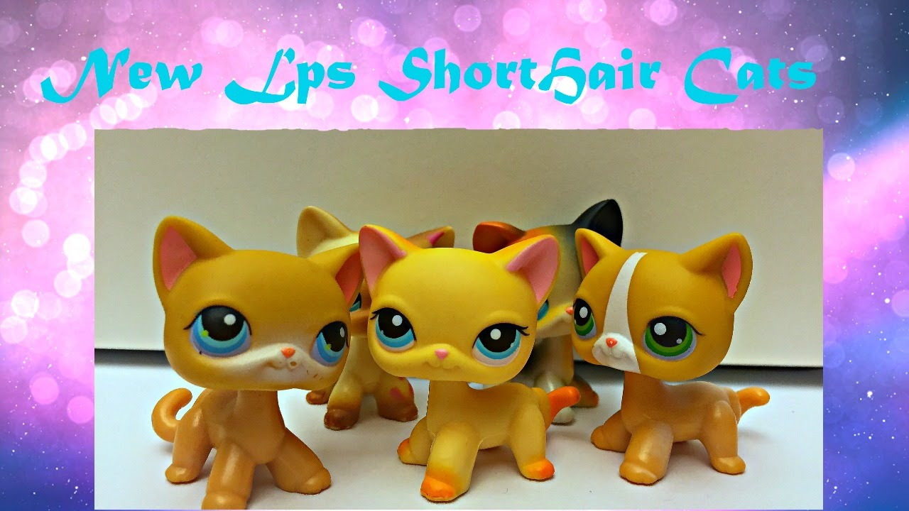 Lps I Got From Ebay Shorthair Cats Youtube