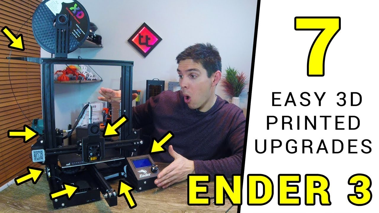 picture regarding Ender 3 Printable Upgrades named 7 simple 3D published updates for your Ender 3