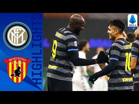 Inter 4-0 Benevento | Poker dell'Inter al Benevento | Serie A TIM