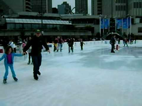 THE HOLIDAY ICE RINK AT EMBARCADERO CENTER PART 2