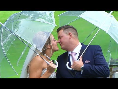 Rebecca and Jonathan - wedding highlighs. Videography. Bryn Meadows