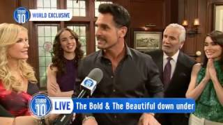 The 'Bold & The Beautiful' Are Coming Down Under!   Studio 10