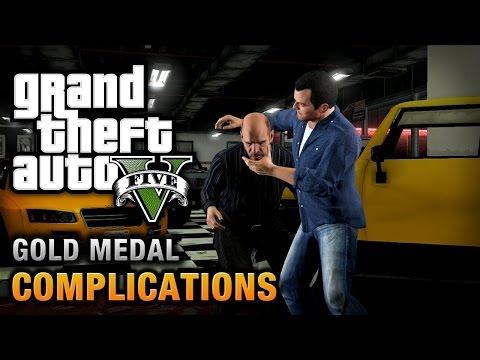Gta 5 Complications Mission #3 - Gold Medal Walkthrough
