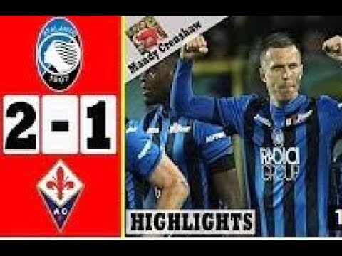 Atalanta Vs Fiorentina 2-1 Highlights 2019