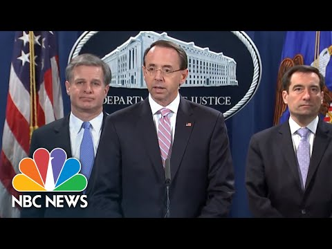 Justice Department Announces Indictment Of 2 Chinese Hackers | NBC News
