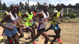 Nyahururu, Kenya - Double Road Race- 21K (15k+6k)