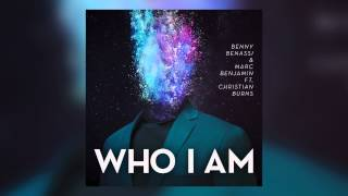 Benny Benassi & Marc Benjamin feat. Christian Burns - Who I Am (Cover Art)