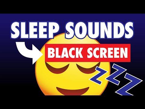 White Noise Sleep Sounds Machine Black Screen 10 Hours
